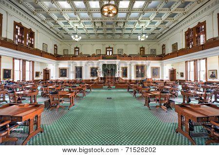 Texas Senate Chamber, Austin Texas