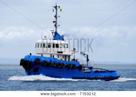 Tugboat Underway