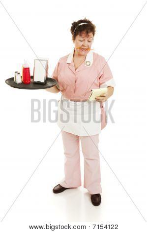 Waitress Shift Begins