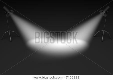Pair Of Spotlights