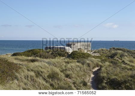 Skagen (denmark) - Second World War Bunkers At The Coast