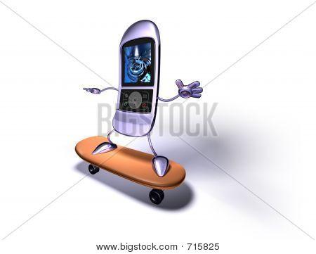 Mobile Phone Skating