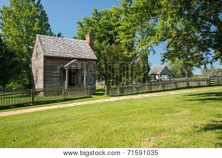 Jones Law Office cabin at Appomattox County Courthouse National Park Virginia poster