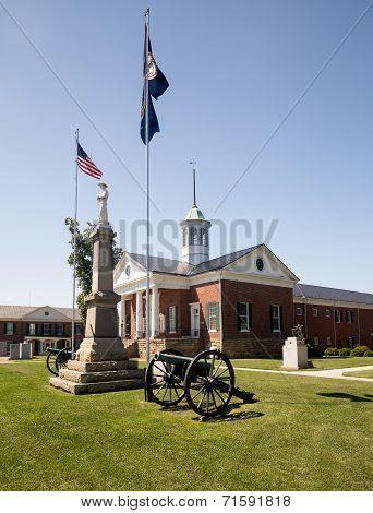 County Court House Appomattox Virginia