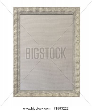 Cloth Pinboard In Ornate Painted Frame