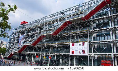 Centre Georges Pompidou, Paris, France.
