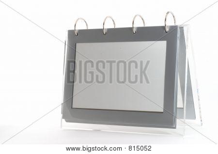 Ring binder empty photo frame