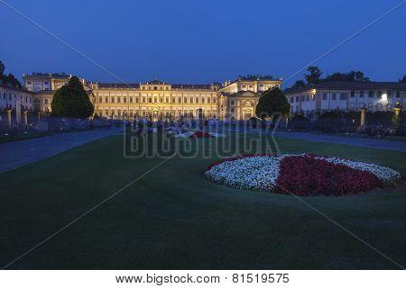 Monza - Villa Reale Illuminated