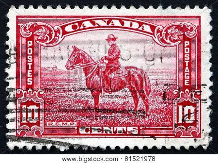 Postage Stamp Canada 1935 Royal Canadian Mounted Police
