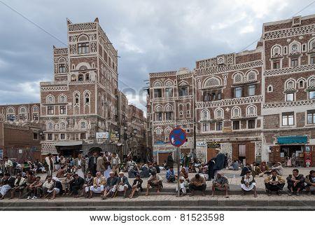Men In Yemen
