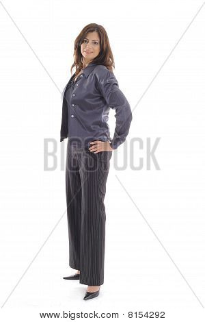 business woman pose