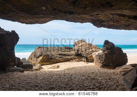 Verandinha Beach Praia De Verandinha  In Boavista Cape Verde - Cabo Verde