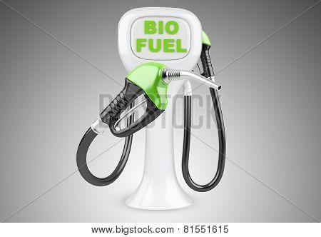 Bio Fuel Concept With Nozzle.