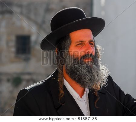 Orthodox Jewish Man, Israel