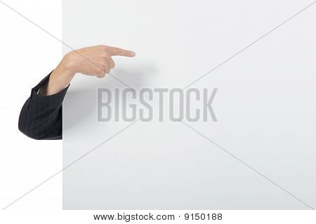 Hands On A Billboard