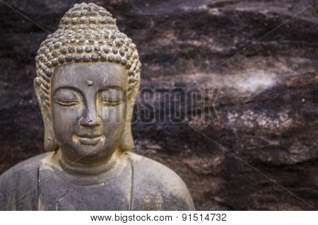 Portrait of Bouddha