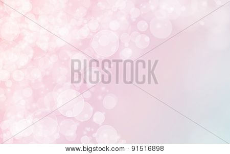 bright blurred bokeh background