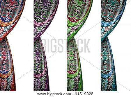 Festive Colorful Ramadan Curtains