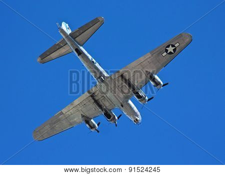 A B-17G Flying Fortress Bomber, Sentimental Journey