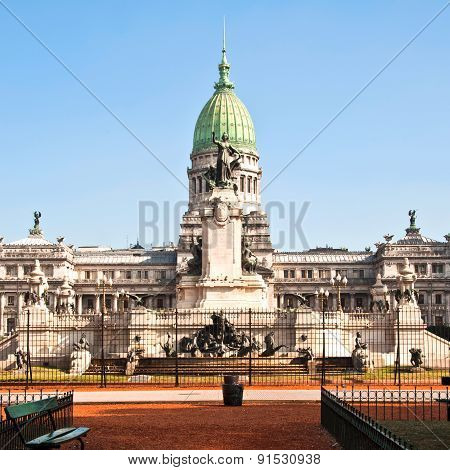 National Congress In Buenos Aires, Argentina