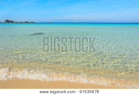 Capo Testa Foreshore On A Clear Summer Day