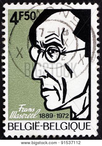 Postage Stamp Belgium 1972 Frans Masereel, Flemish Graphic Artis