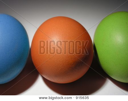 Rgb Colored Eggs