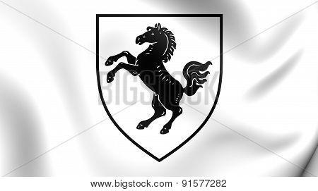 Flag Of Herford Kreis, Germany.