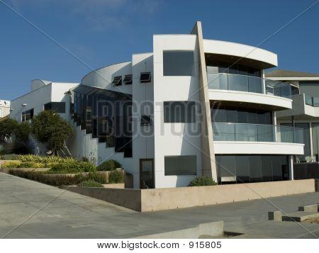 Ultra Modern White Home