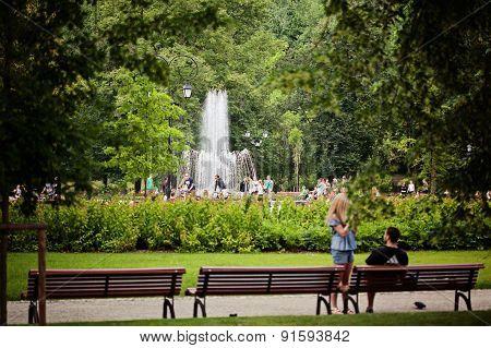 Bernardinai Garden In The Summer