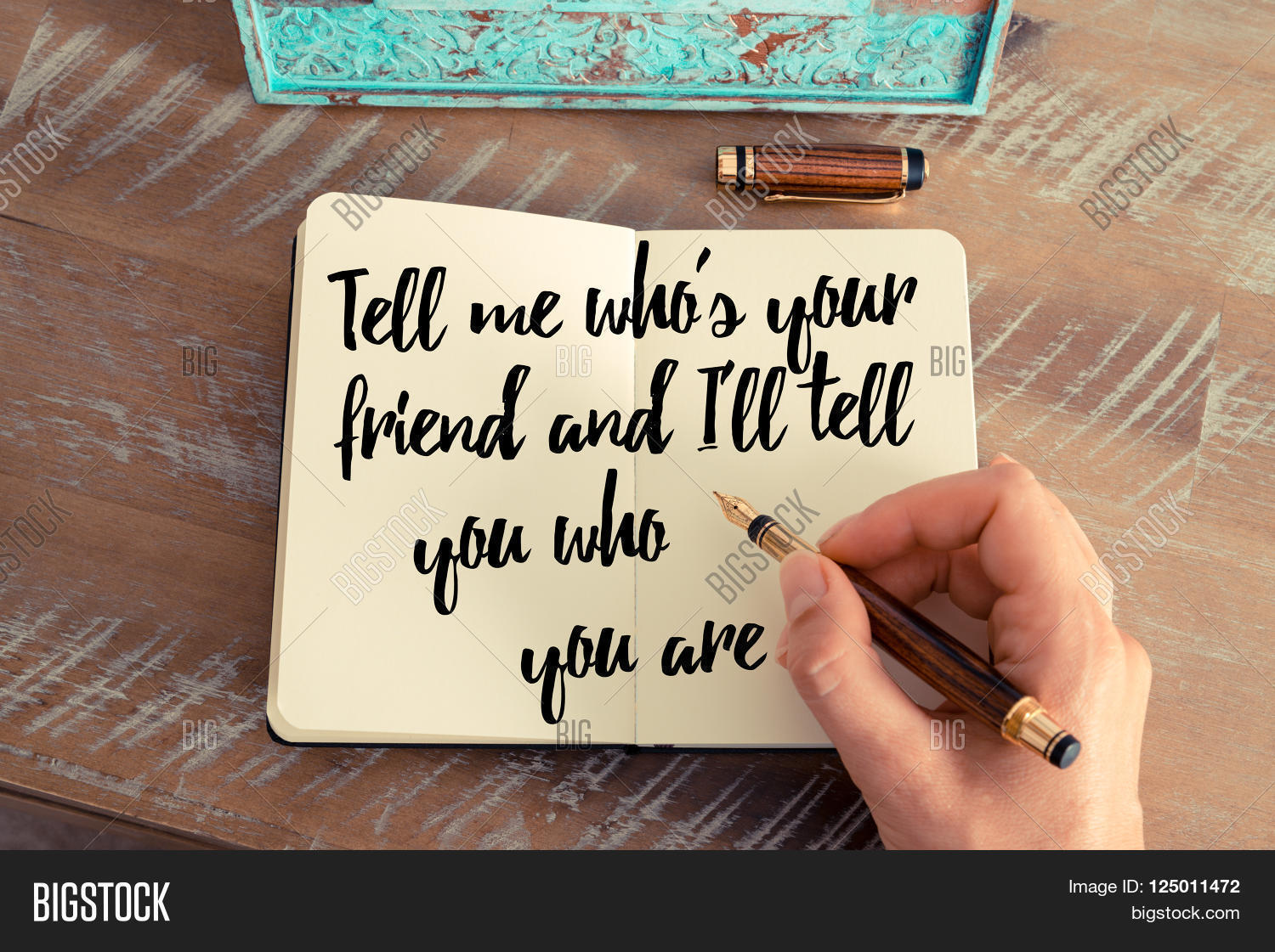 Tell me who is your friend