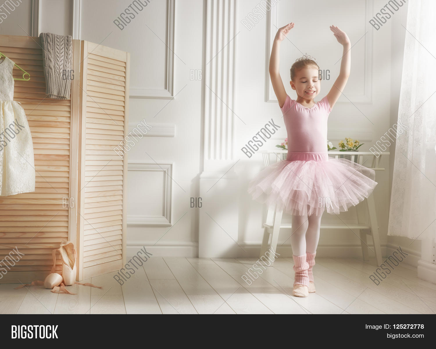 cute little girl image photo free trial bigstock