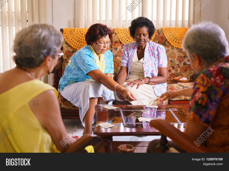 Older women having fun