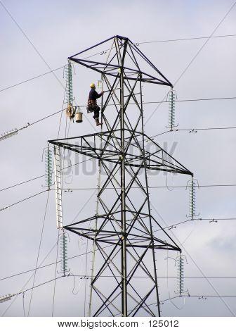 Pylon Worker