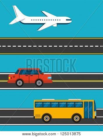 mass transport design, vector illustration eps10 graphic