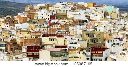 Moulay Idriss, the holy town in Morocco, named after Moulay Idriss I, arrived in 789 bringing the religion of Islam