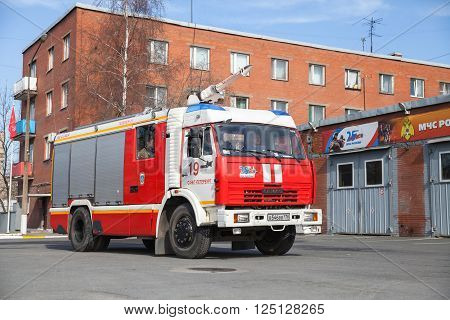 Kamaz 43253 Truck As Russian Fire Engine