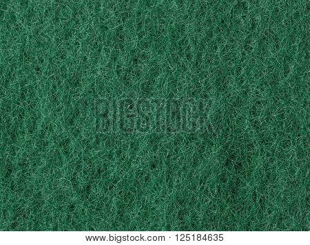 Dark Green color fibrous macro texture background