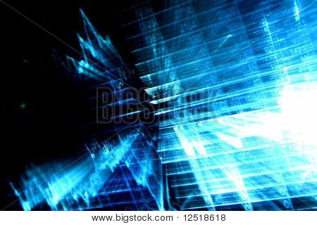 financial abstract background