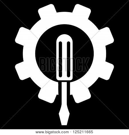 Engineering vector icon. Engineering icon symbol. Engineering icon image. Engineering icon picture. Engineering pictogram. Flat white engineering icon. Isolated engineering icon graphic.