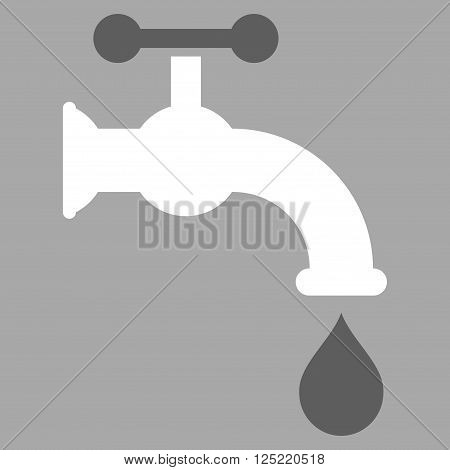 Water Tap vector icon. Water Tap icon symbol. Water Tap icon image. Water Tap icon picture.
