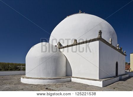 Chapel of Good Help (Capela do Socorro) built in 1552 in Vila do Conde Portugal