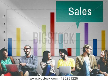 Sales Finance Selling Inventory Data Concept