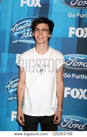 LOS ANGELES - APR 7:  MacKenzie Bourg at the American Idol FINALE Arrivals at the Dolby Theater on April 7, 2016 in Los Angeles, CA