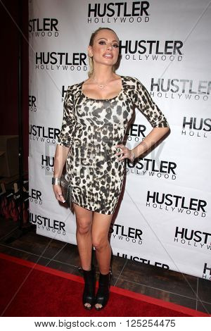 LOS ANGELES - APR 9:  Briana Banks at the Hustler Hollywood Grand Opening at the Hustler Hollywood on April 9, 2016 in Los Angeles, CA