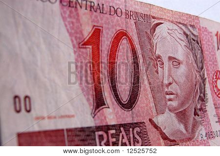 Brazilian Real note
