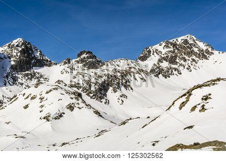 South East ridge Swistowy Summit (Svistovy stit) - Swistowy Grzbiet Svistovy chrbat poster