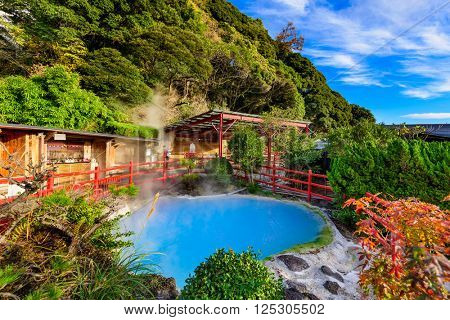 Beppu, Japan hot springs at kamado jigoku.