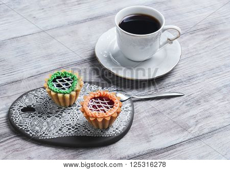 Small Cakes Petit Fours Tartlets