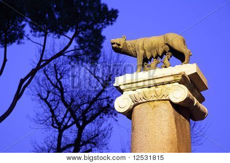 Statue Of Romulus And Remus